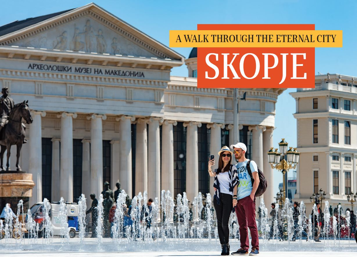 A walk through the eternal city - Skopje