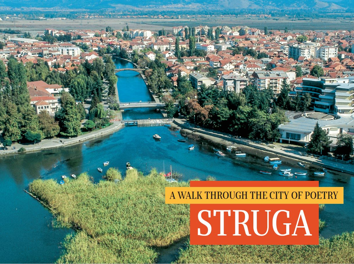 A walk through the city of poetry - Struga