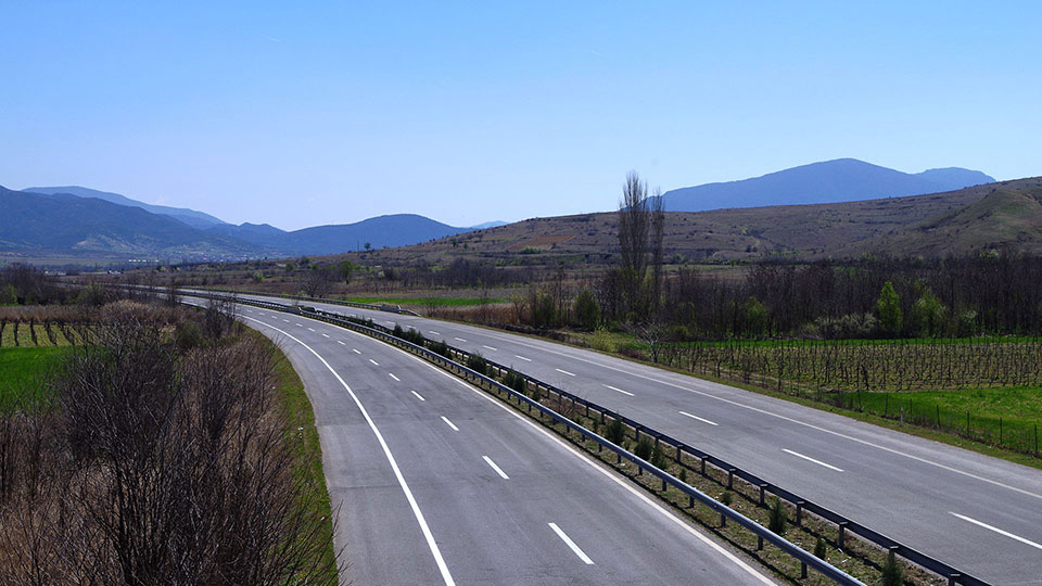 Route e75 Macedonia – European highway