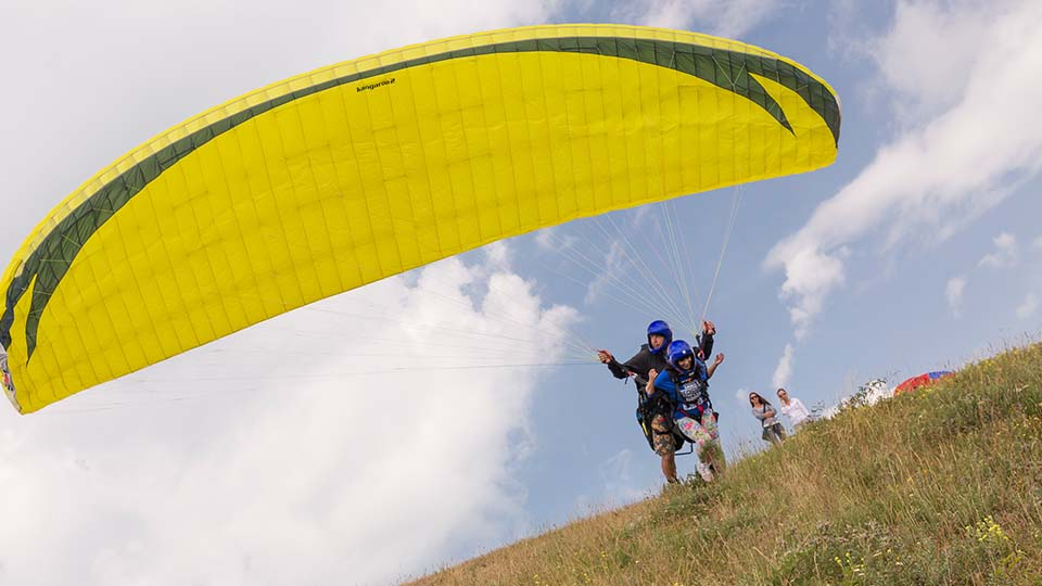 Paragliding in Macedonia